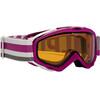 Alpina Spice Doubleflex S2 goggles Dames roze/wit